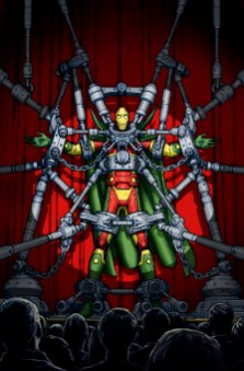 Mister Miracle #1 final cover by Nick Derington
