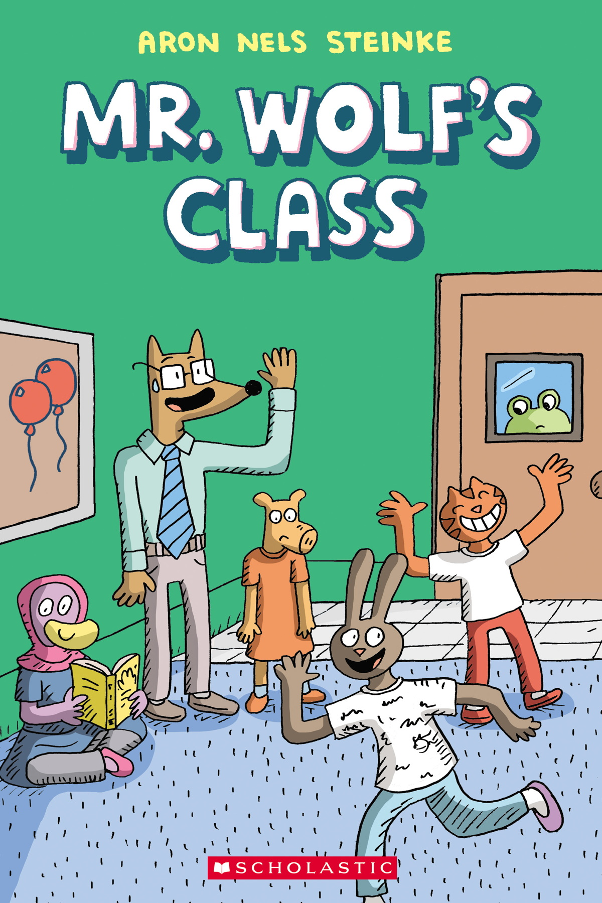 Mr. Wolf's Class Cover