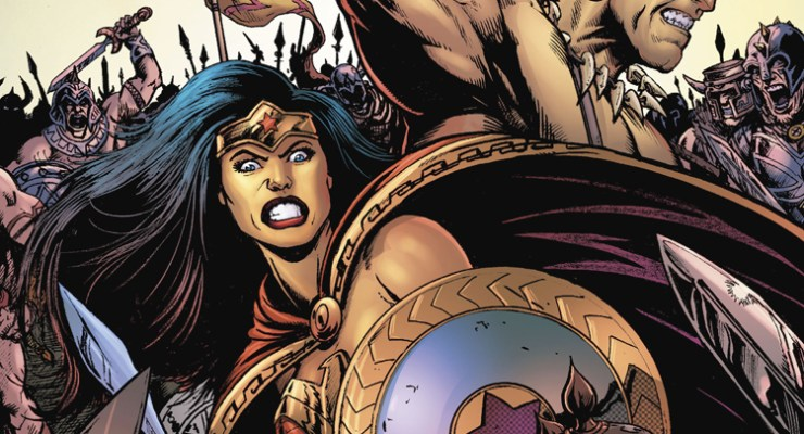ONE OR DONE: Wonder Woman stuck on planet Conan.