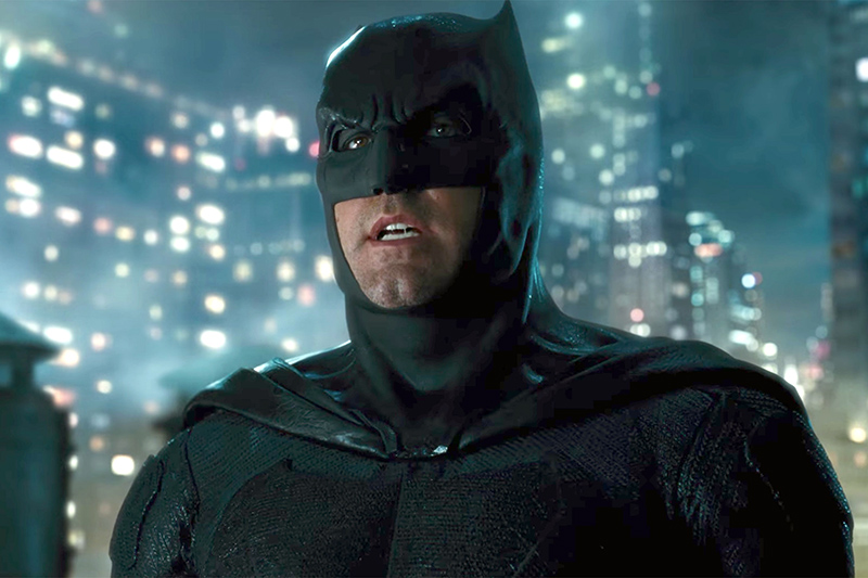 Ben Affleck Plays The DCEU's Batman For His Son