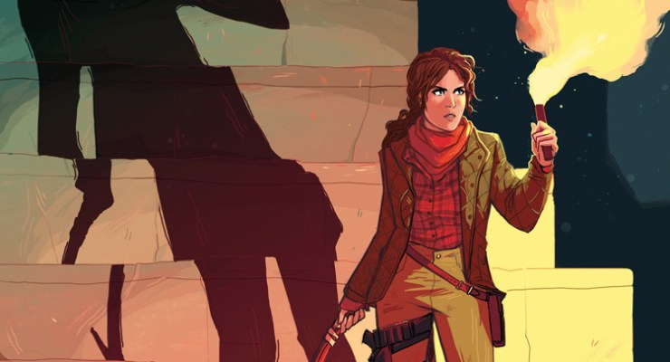 ONE OR DONE: Dark Horse's Tomb Raider comes up a bit empty in its search for treasure.