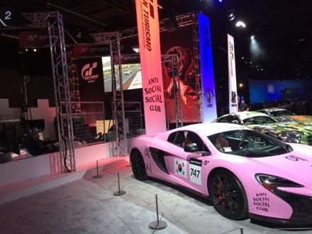 Gran Turismo has pink cars