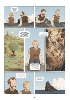 H.M.S. Beagle, aux origines de Darwin», © Fabien Grolleau, Jérémie Royer, Editions Dargaud
