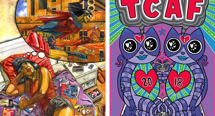 TCAF 2018 reveals guests, posters and a hockey opera