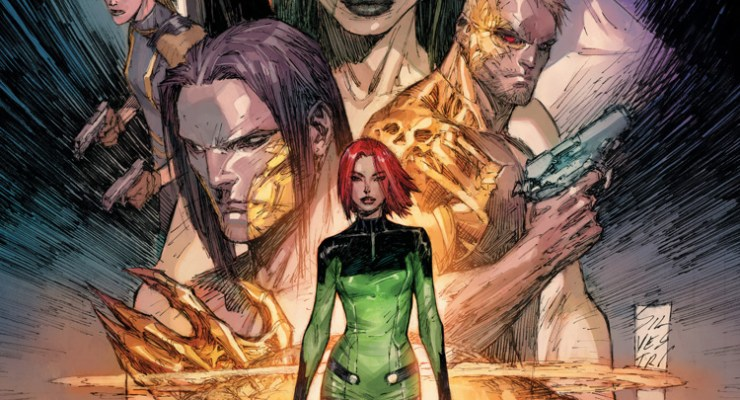 The Starting Line: CYBER FORCE is back with a transhuman revolution.