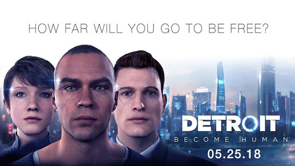 No Spandex Saturday: DETROIT BECOME HUMAN's game of high stakes decision making brings new levels of fluidity to storytelling.