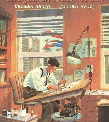 INTERVIEW: Legacy and the test of loyalty in THE JOE SHUSTER STORY graphic novel.