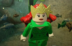 Sdcc 18 The Ultimate Fish Out Of Water Story Lego Aquaman Rage