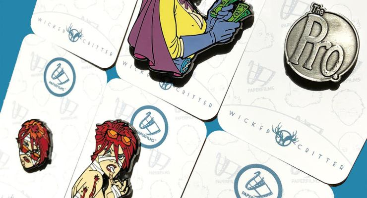 SDCC'18: Jimmy Palmiotti and Amanda Conner's creator owned properties get a radical pin treatment.