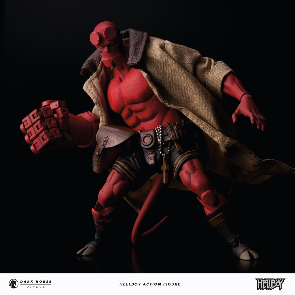 Statuette Night King: Dark Horse Direct Reveals Hellboy Action Figure And Game
