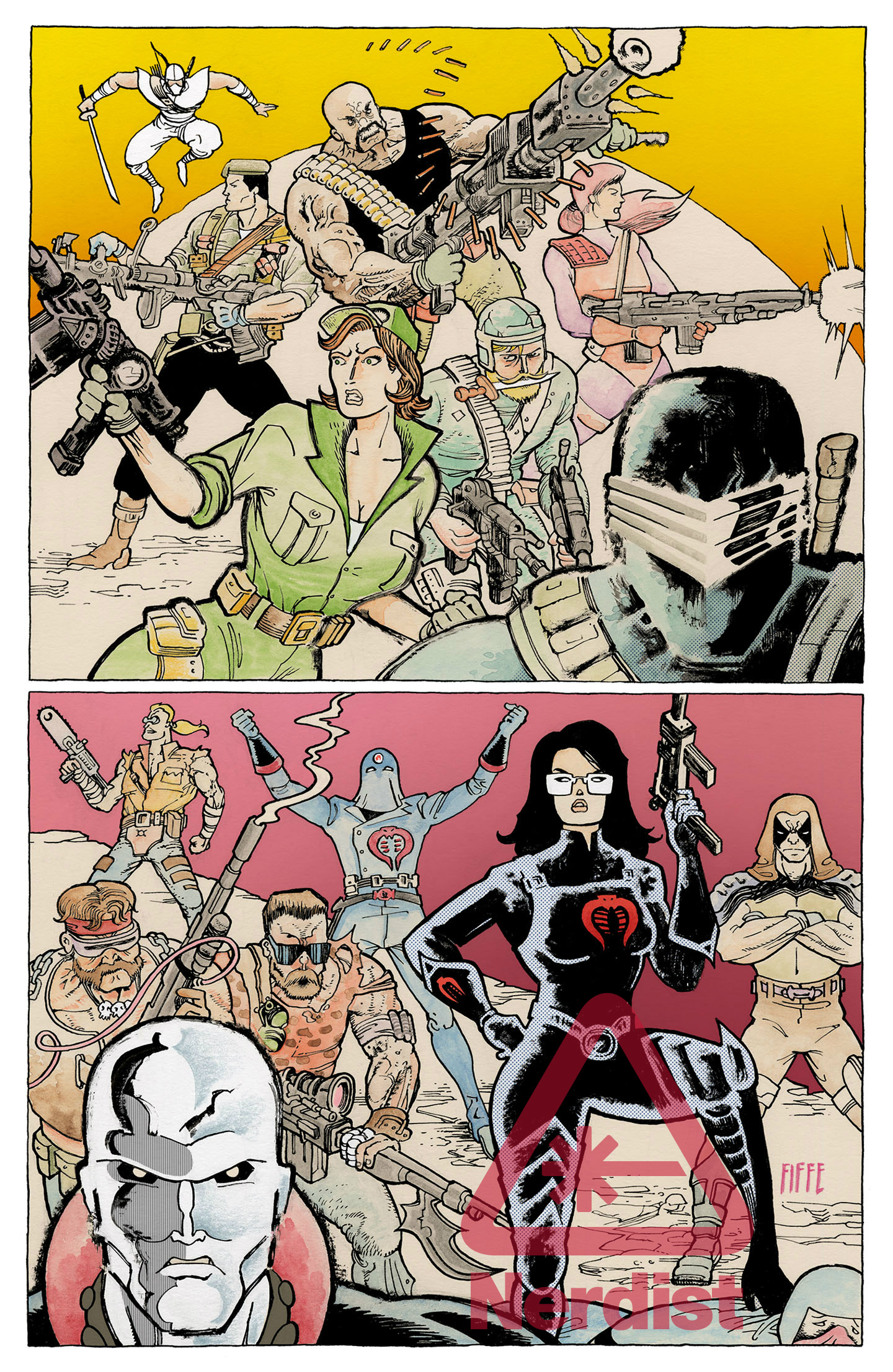 Michel Fiffe To Tackle G.I. JOE, Freedom With New IDW