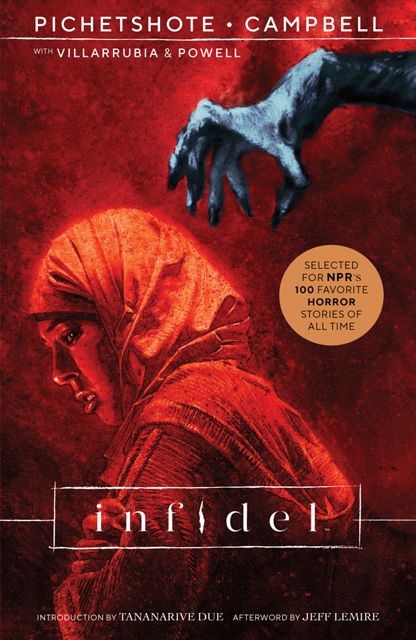 Infidel Cover by Aaron Campbell