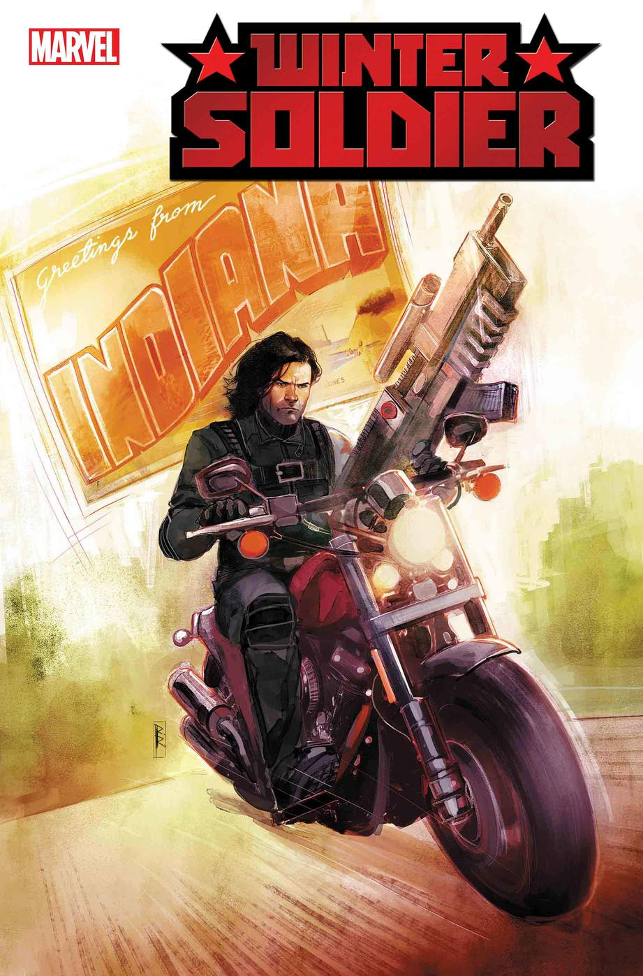 Bucky Barnes Rides Again in New WINTER SOLDIER Miniseries by