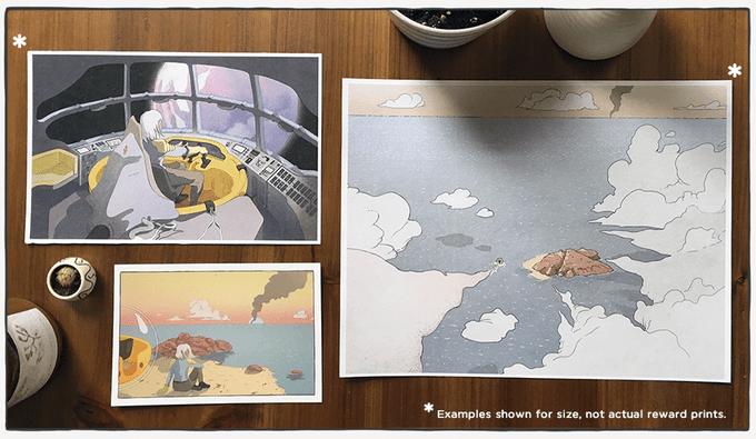 The Moebius Inspired Sci-Fi Exploration of Aquamarine.