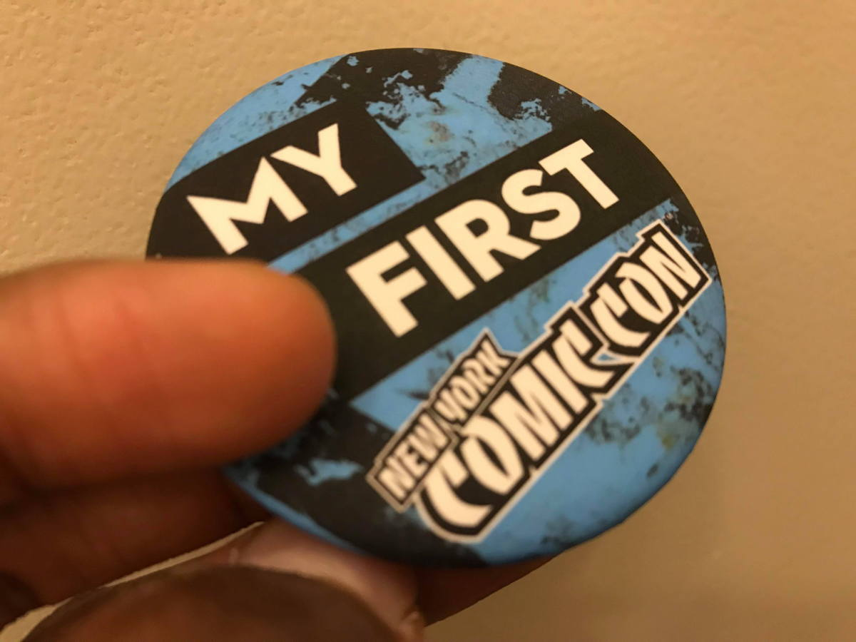First Comic Con Pin