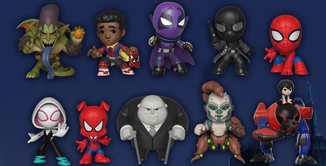 Funko Mystery Minis Spider-Man Spider-Verse Miles Morales Cape 1//6