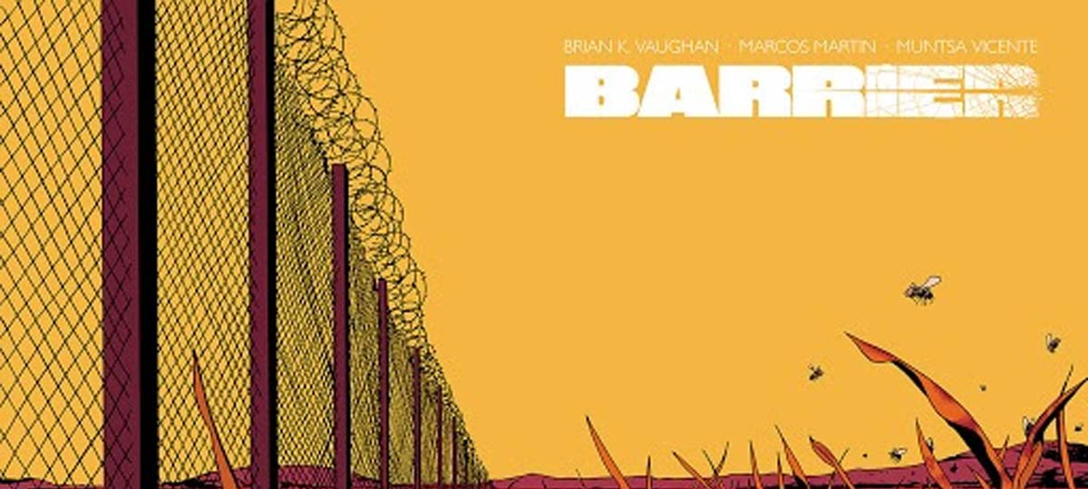 #5 of 5 VF//NM 9.0 Barrier Brian K Vaughan Marcos Martin 2015