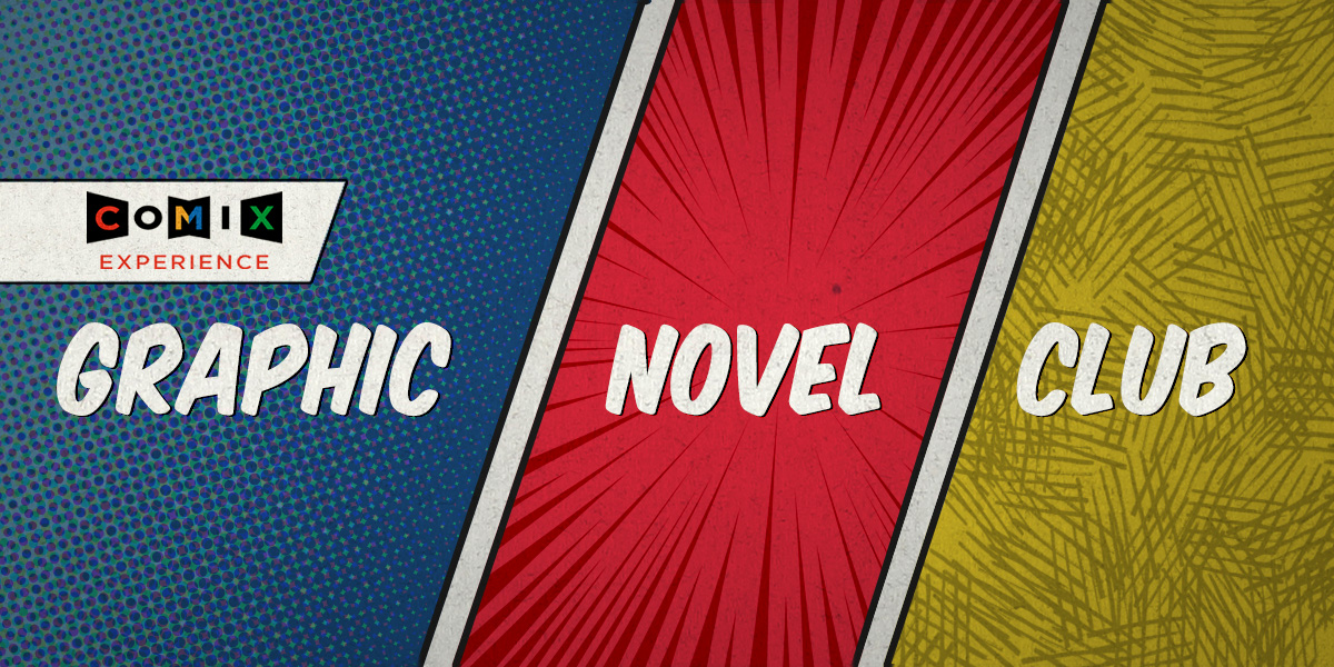 Graphic Novel Club Banner