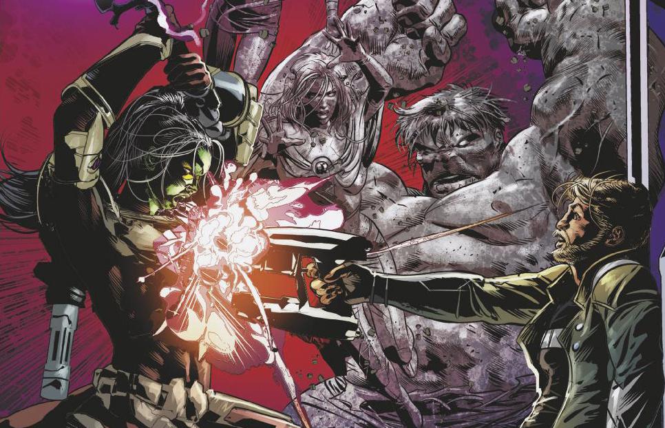 Infinity Wars #6 Header
