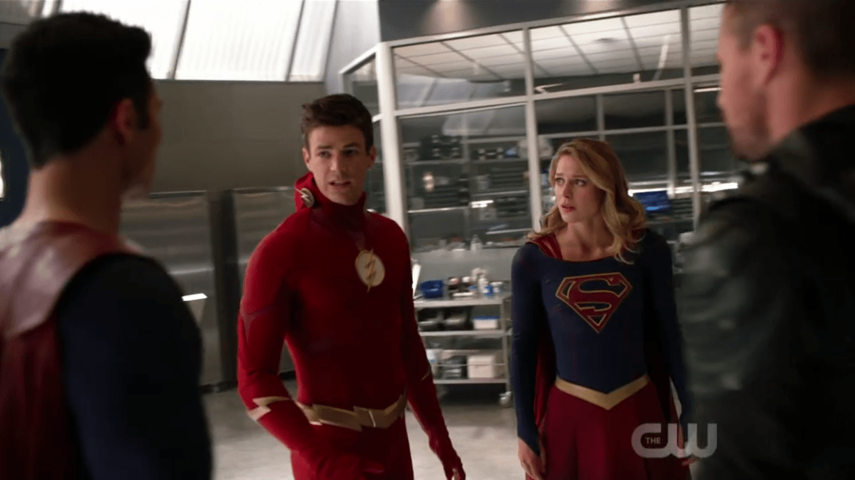 The Battle for Earth-1 Concludes! - Supergirl S4E09
