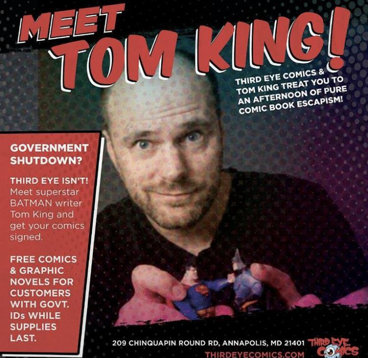Tom King face