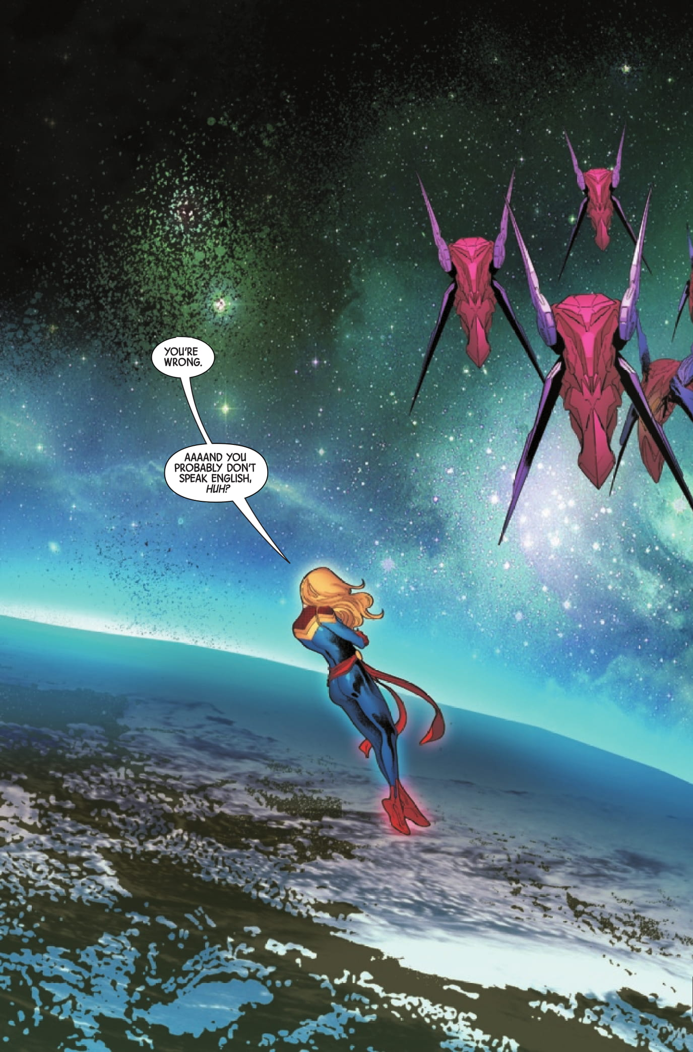 Captain Marvel: Braver & Mightier page 2