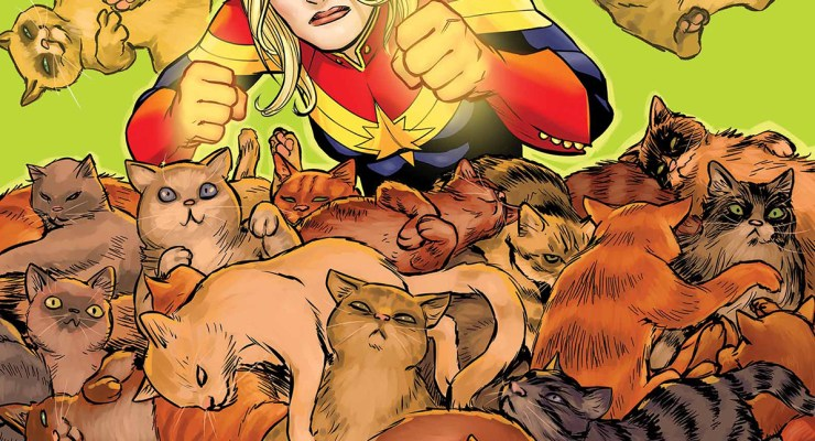 Cats take center stage in new feline-themed Marvel variant covers