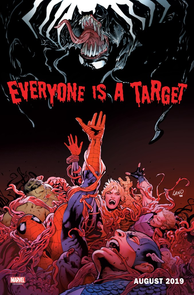 Everyone Is A Target teaser art by Greg Land