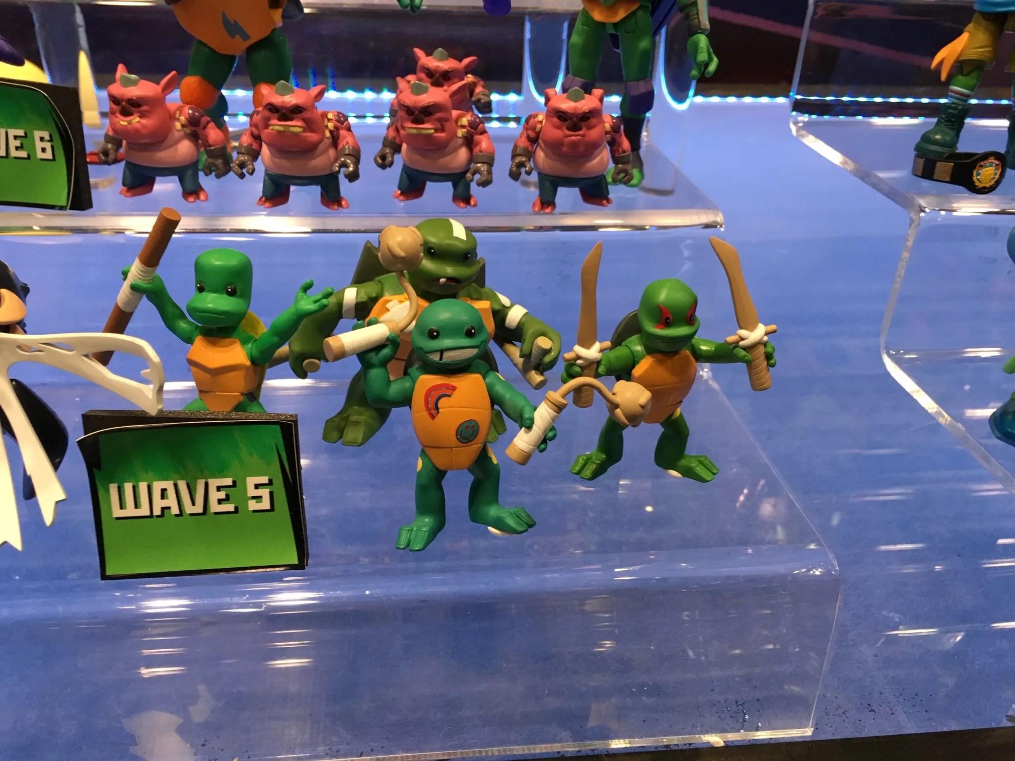 Rise of the Teenage Mutant Ninja Turtles Michelangelo TMNT Action Figure New