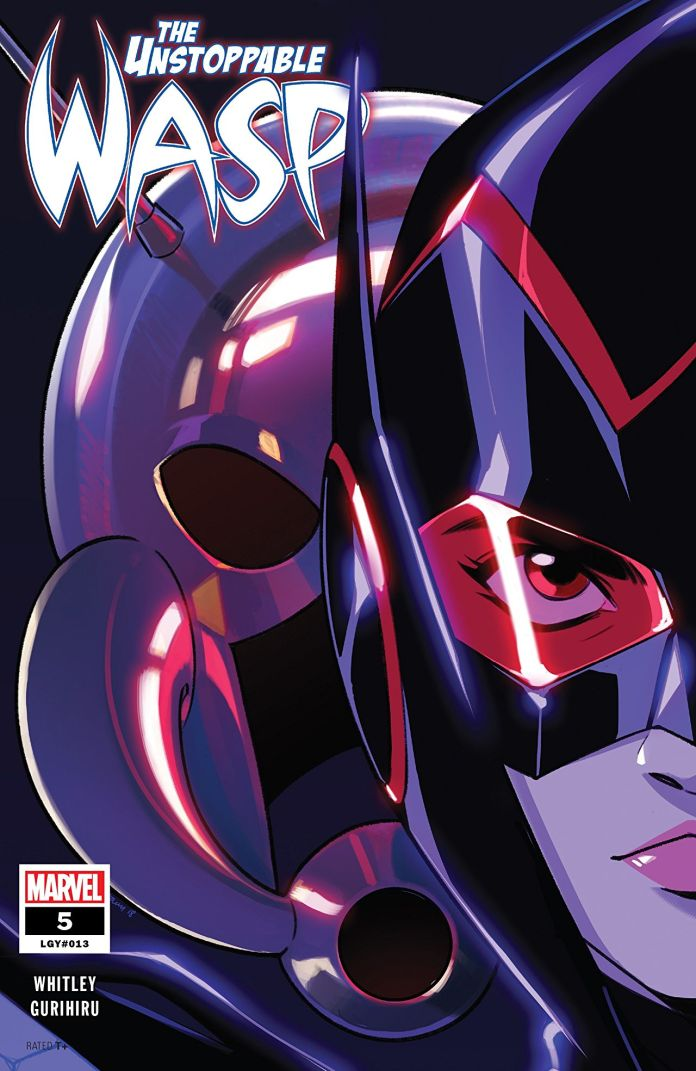 Unstoppable Wasp #5 cover by Stacey Lee