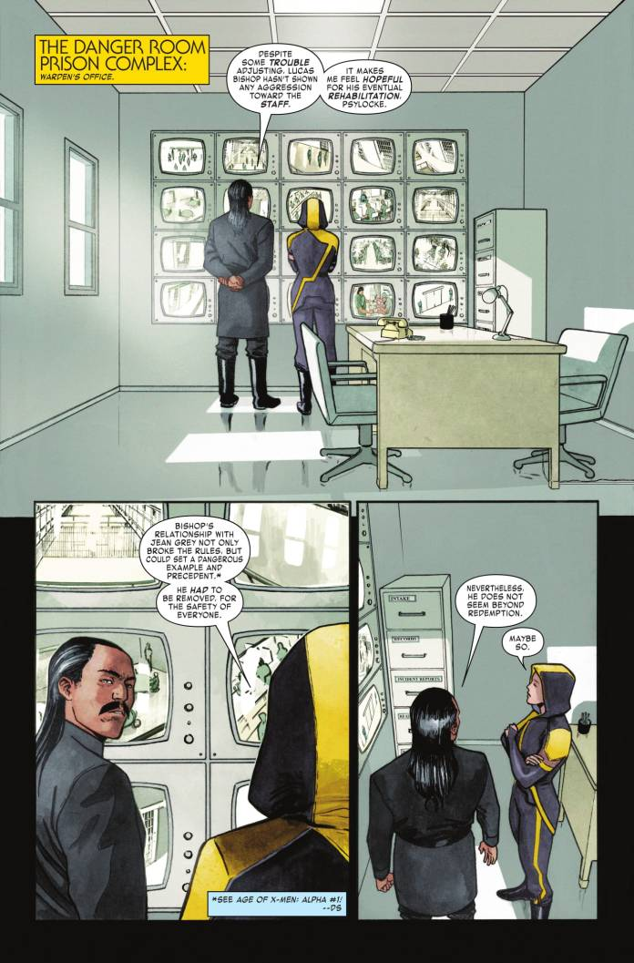 Age of X-Man: Prisoner X #2 page 1