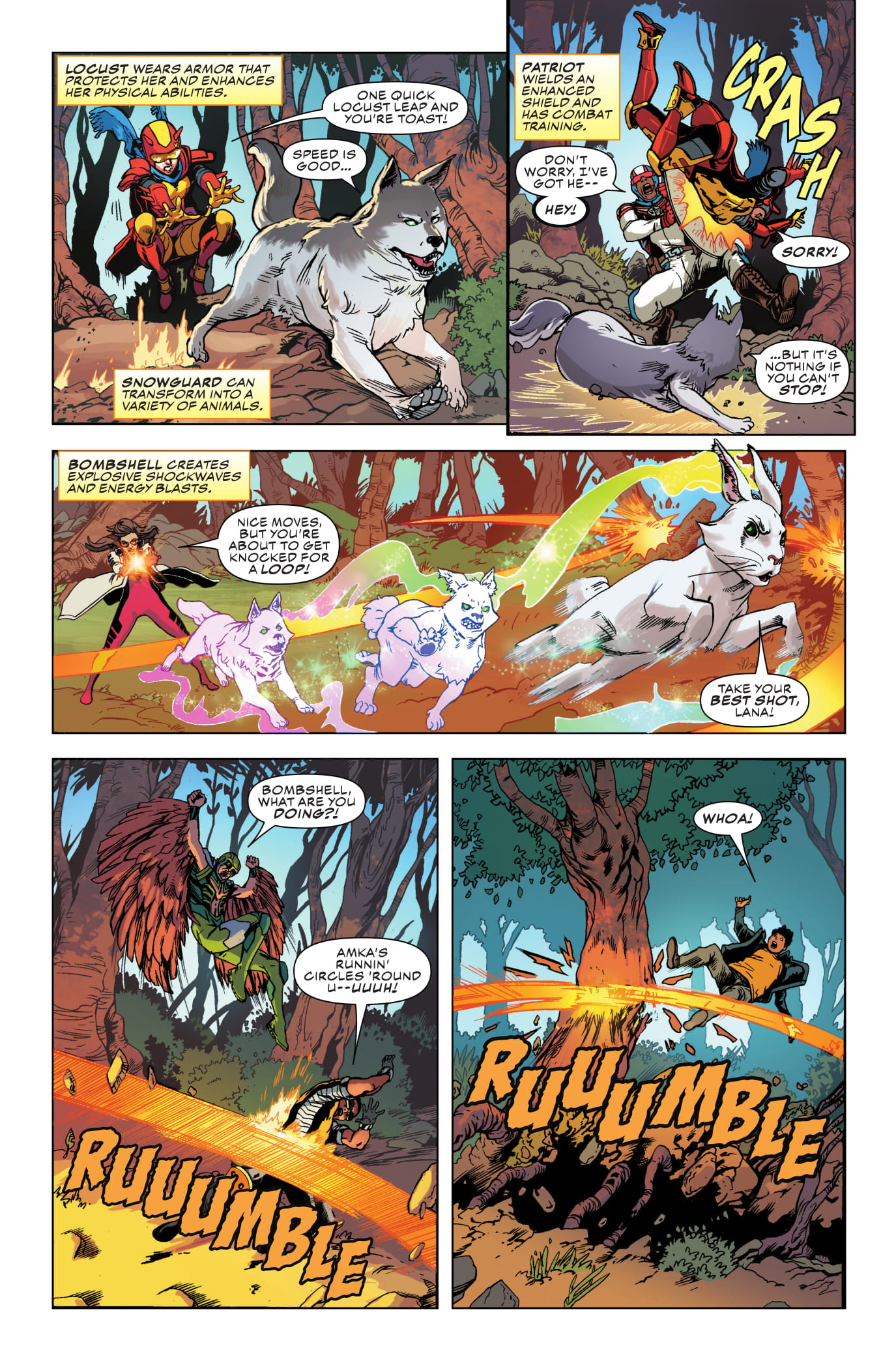 Champions #3 page 4