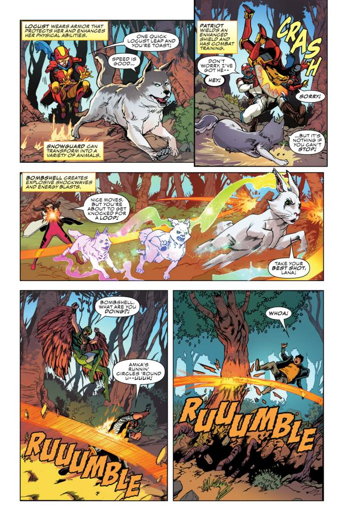 Champions #3 page 4