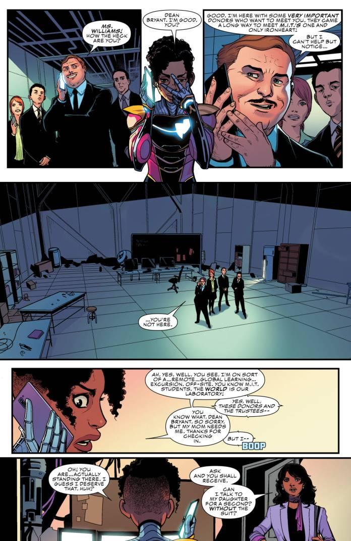 Ironheart #4 page 2