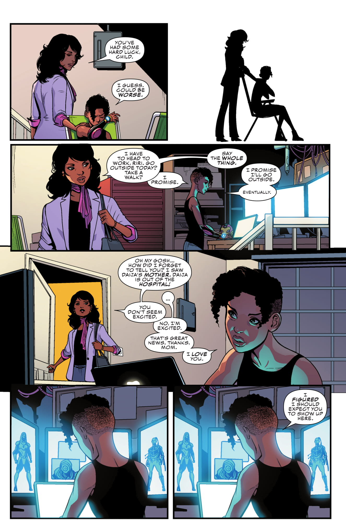 Ironheart #4 page 5