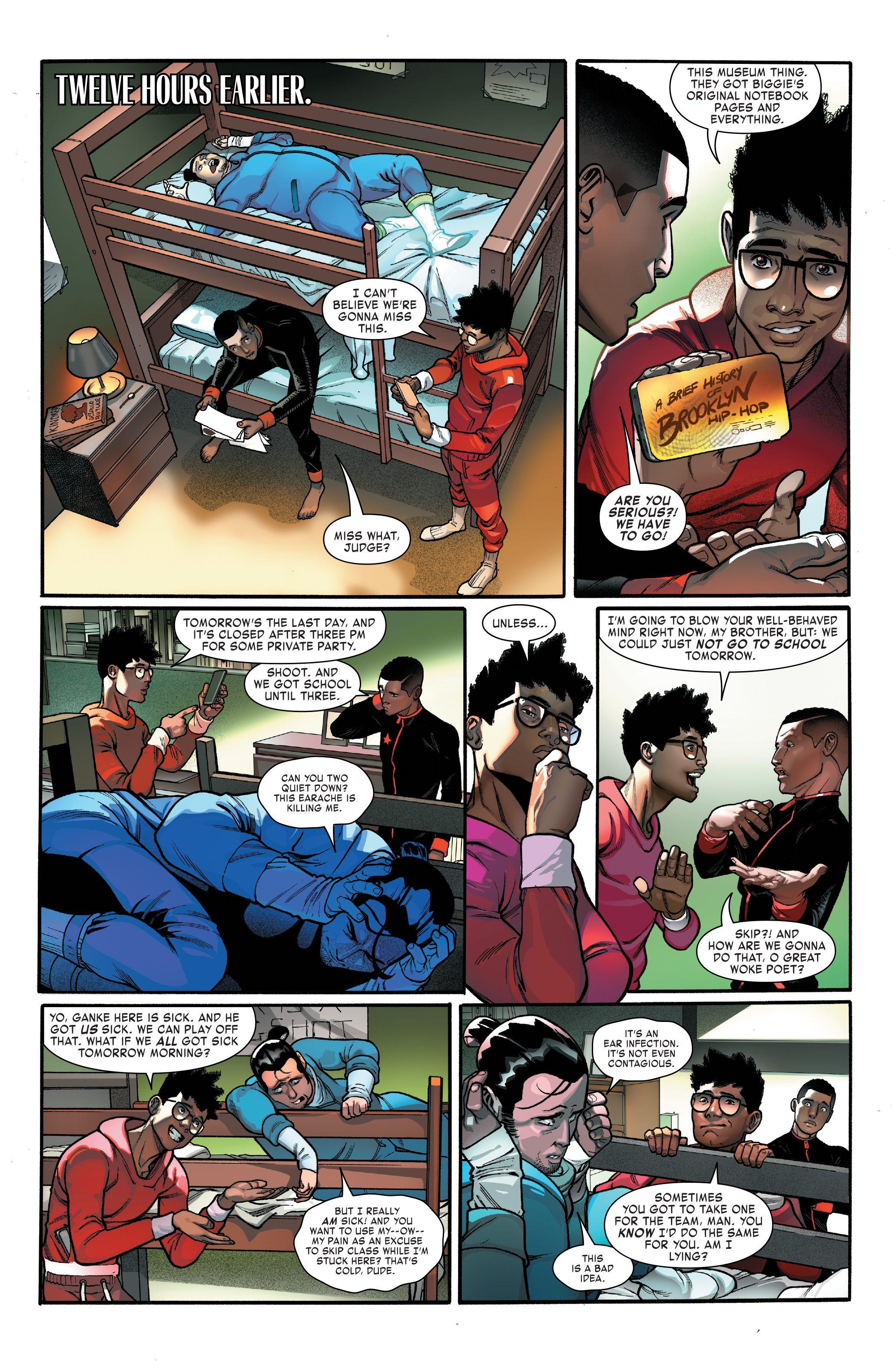 Miles Morales: Spider-Man #4 page 2