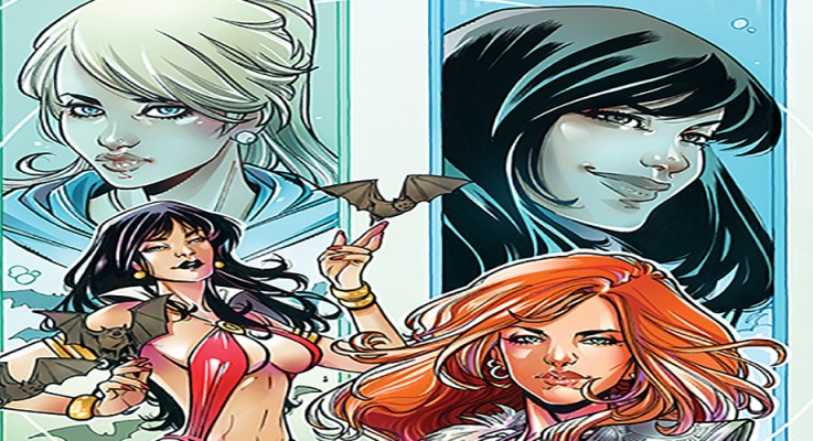 Interview: Amy Chu and Maria Laura Sanapo Explain How Red Sonja and Vampirella End Up in Riverdale