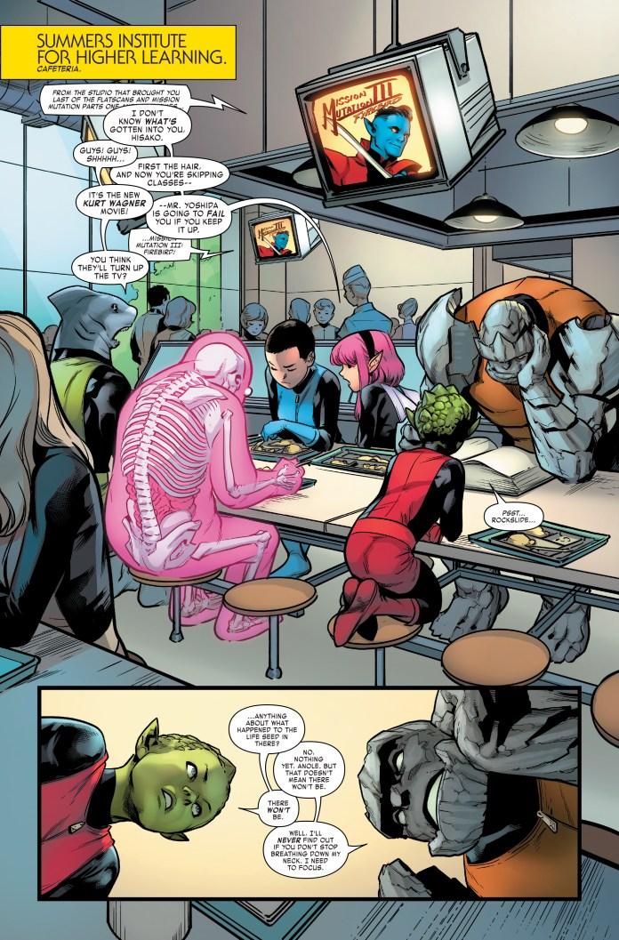 Age of X-Man: NextGen #3 page 1