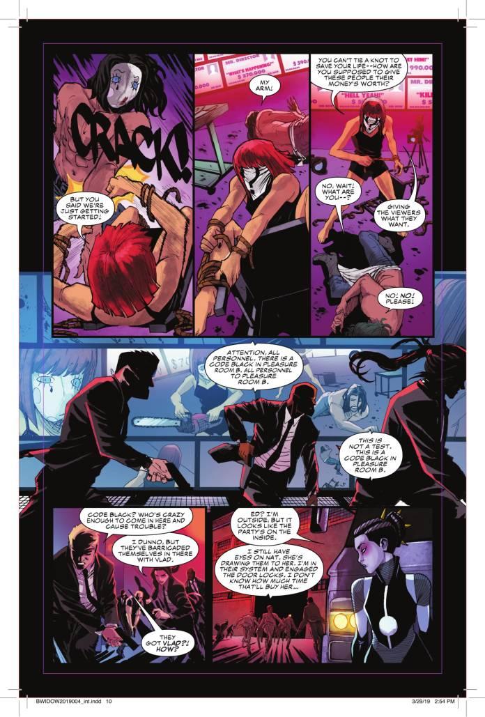 Black Widow #4 page 1