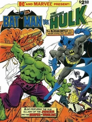 Batman vs. TMNT Batman Hulk
