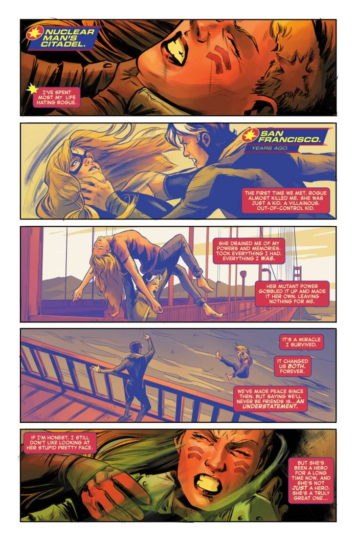Captain Marvel #4 page 1