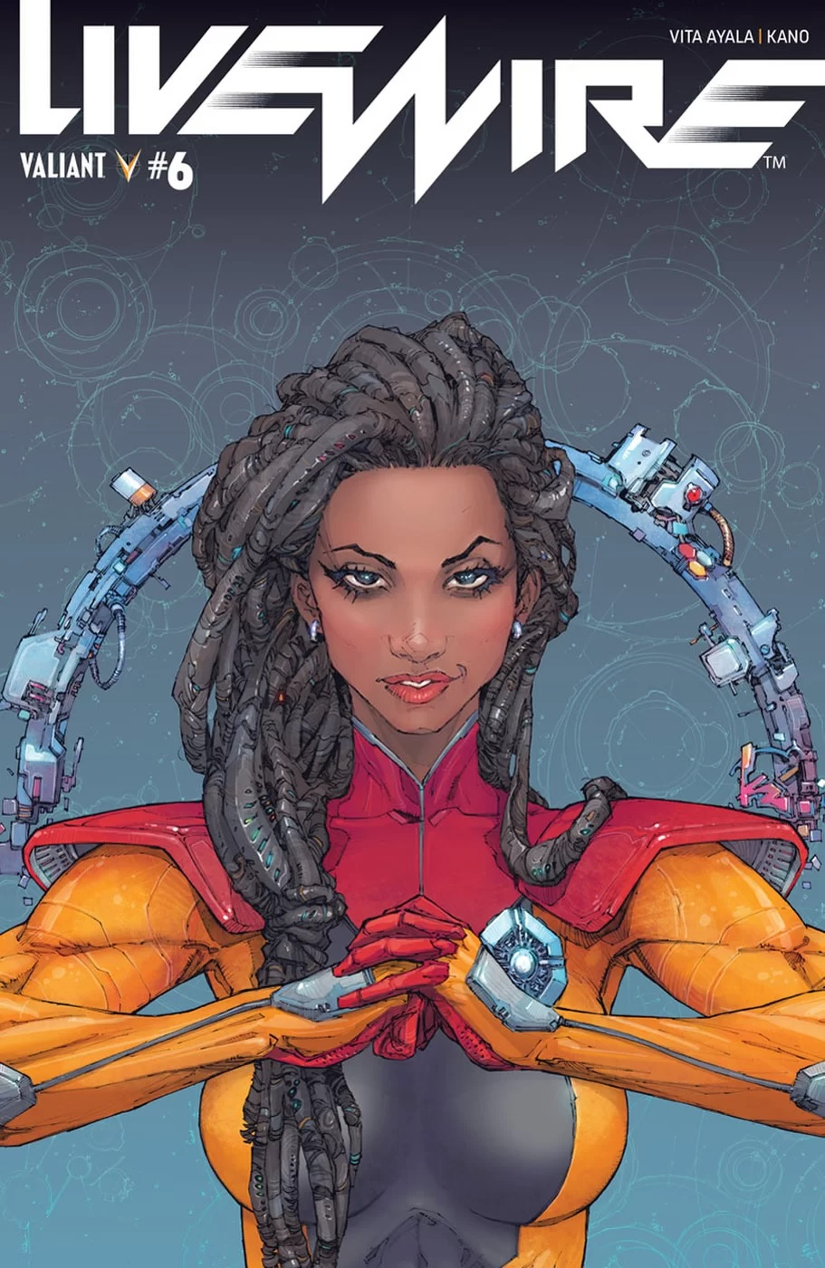 Livewire #6 cover A by Kenneth Rocafort