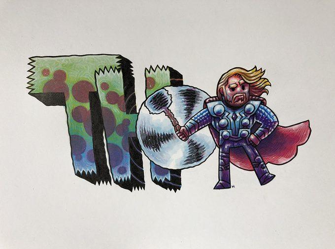 MCU Fan Art Dan Hipp 5