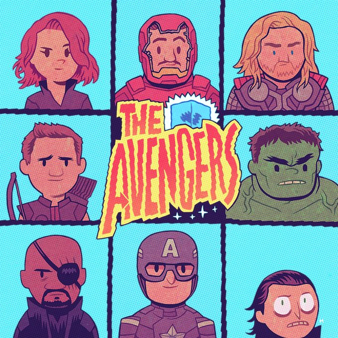 MCU Fan Art Dan Hipp 7