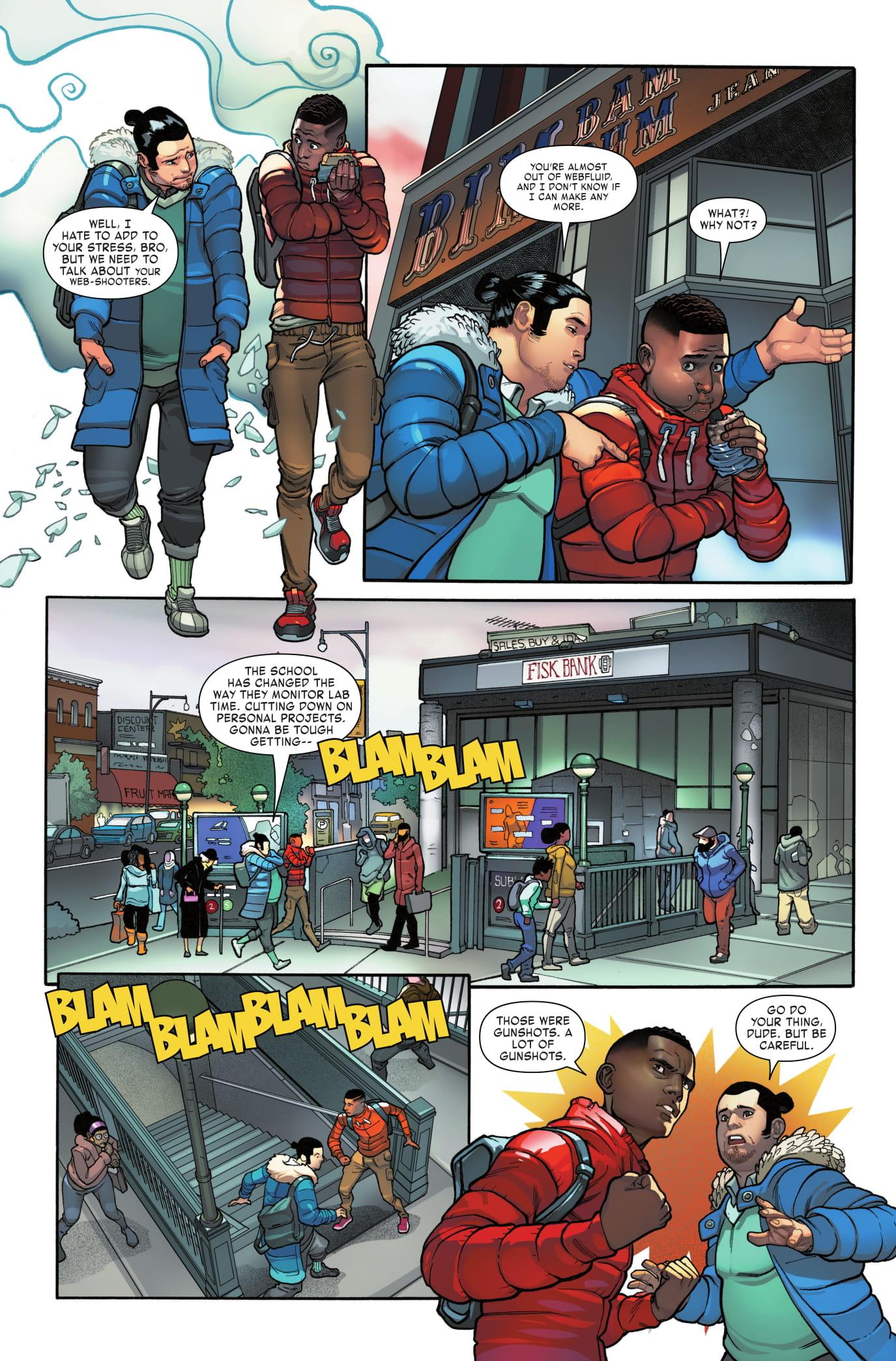 Miles Morales: Spider-Man #5 page 2