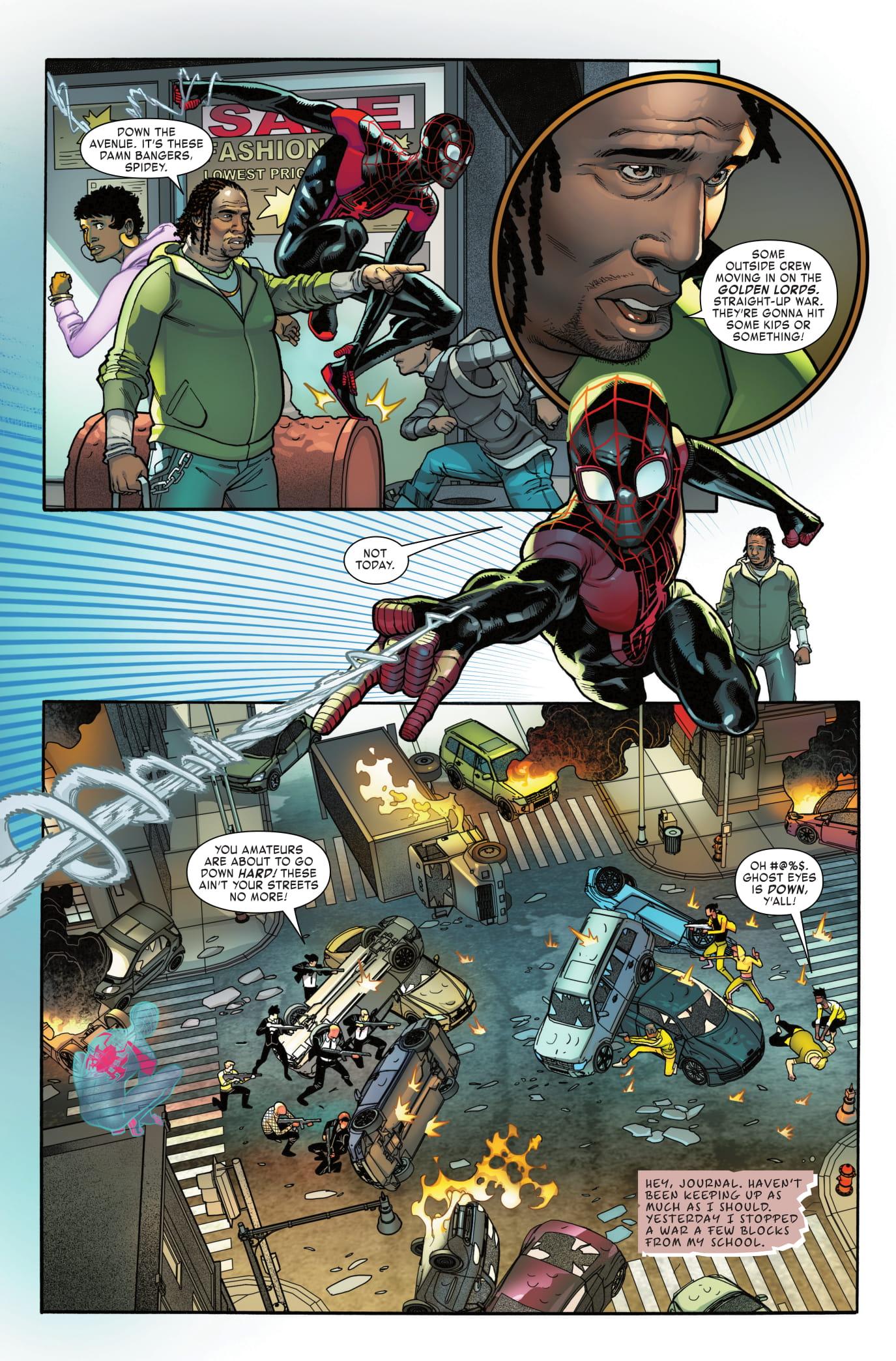 Miles Morales: Spider-Man #5 page 4