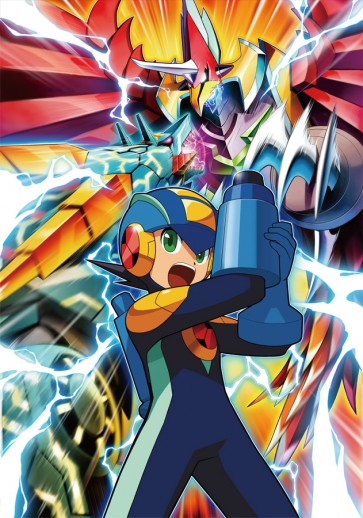 Mega Man Battle Network Preview Page 1