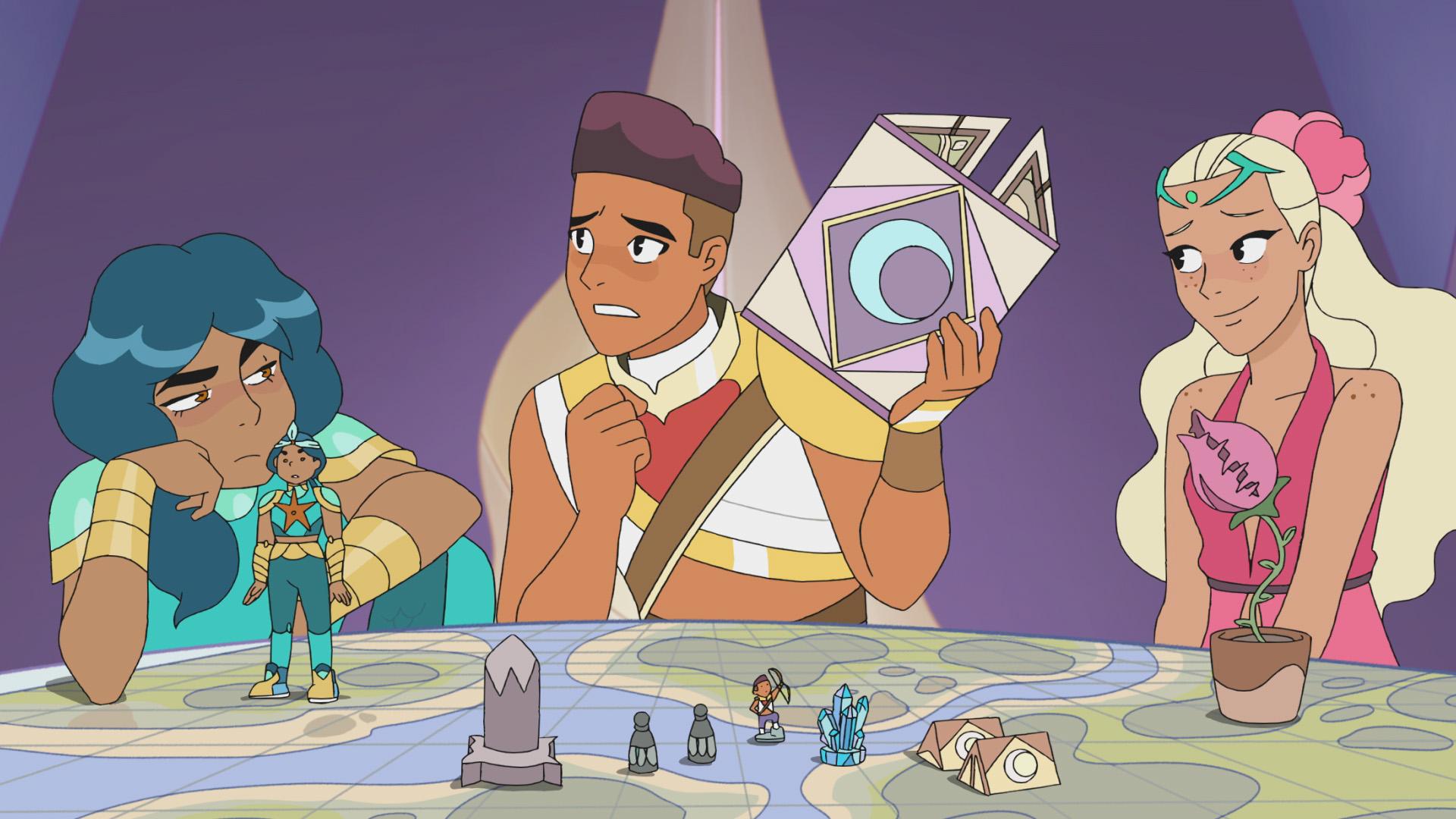 Photo of Mermista, Bow and Perfuma in She-Ra S2