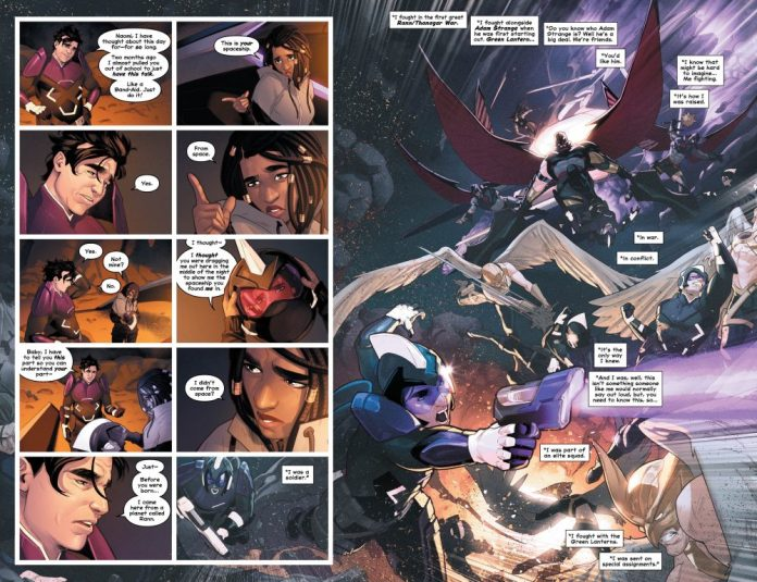 NAOMI #4 pages 4-5
