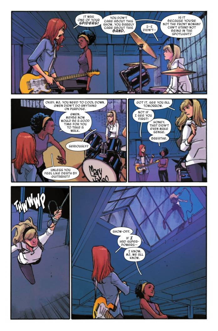 Ghost-Spider #8 page 2